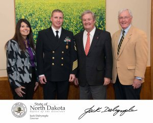 Proclamation for  with Governor Jack Dalrymple